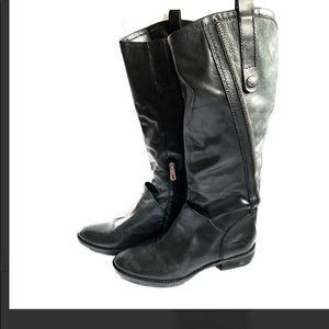 $5/25 Sam Edelman Patrice Black Flat boot